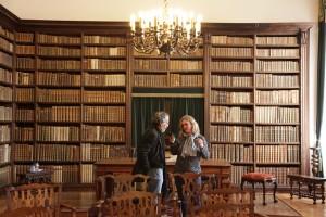 in der Bibliothek von Coimbra